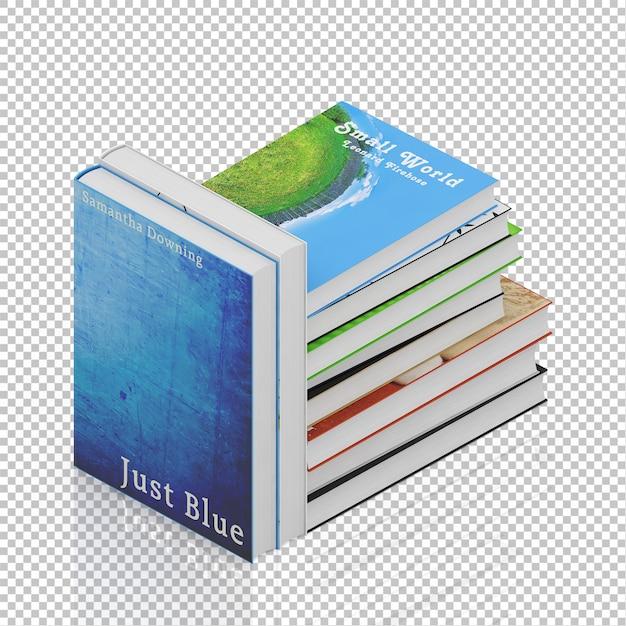 Libri isometrici Psd Premium