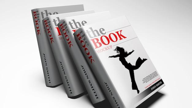 Libro in brossura mock up Psd Premium