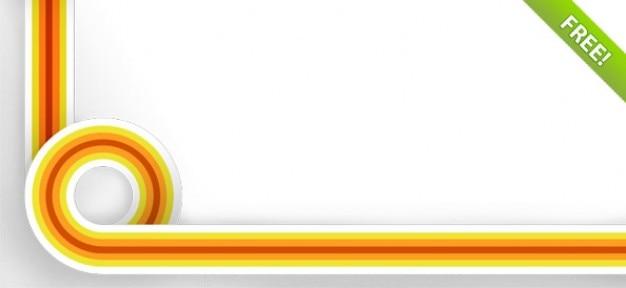 Líneas de colores de fondo psd | Descargar PSD gratis