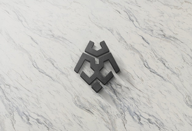 Logo mock-up Psd Premium