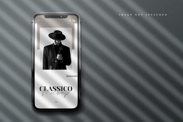 Luxe realistisch telefoonmodel Premium Psd
