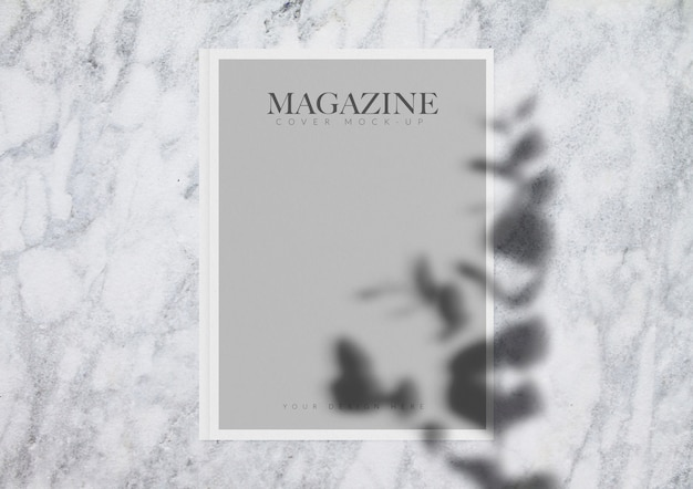Magazine mock-up Psd Gratuite