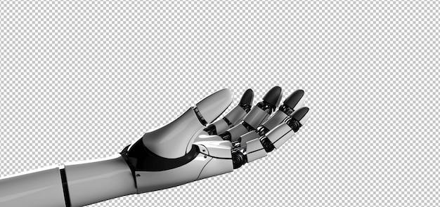 Mano cyborg robot Psd Premium