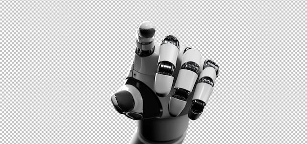 Mano di cyborg robot Psd Premium