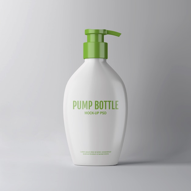 Maqueta botella bomba PSD Premium