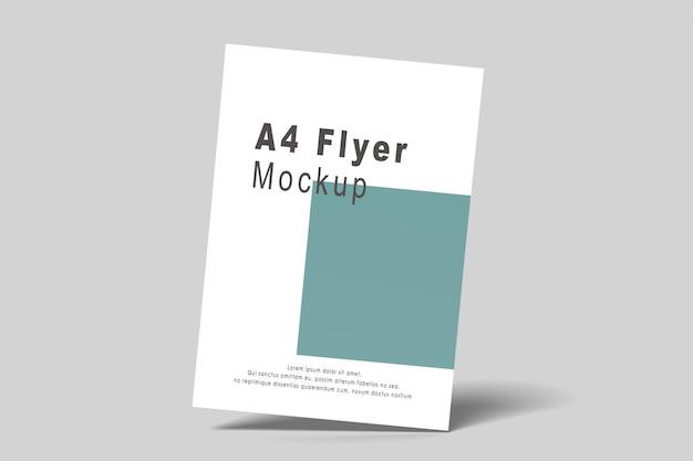 Maqueta de folleto a4 / a5 PSD Premium