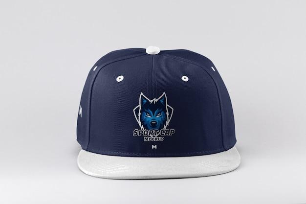 Maqueta de gorra deportiva PSD Premium