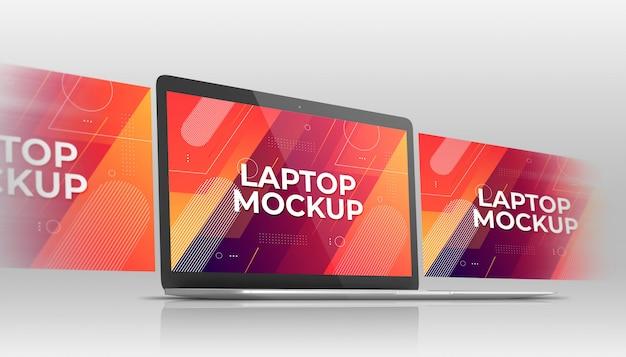 Maqueta para laptop PSD Premium