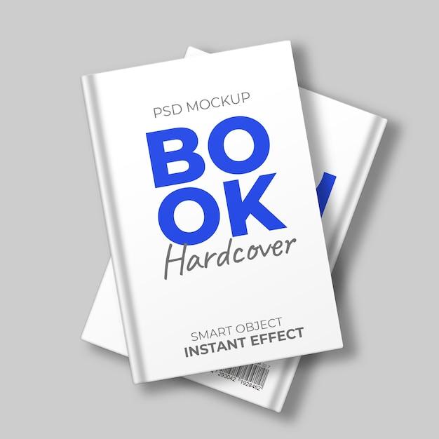 Maqueta de libro de tapa dura PSD gratuito