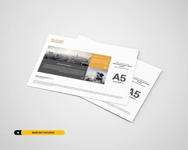 Maqueta del paisaje del aviador PSD Premium