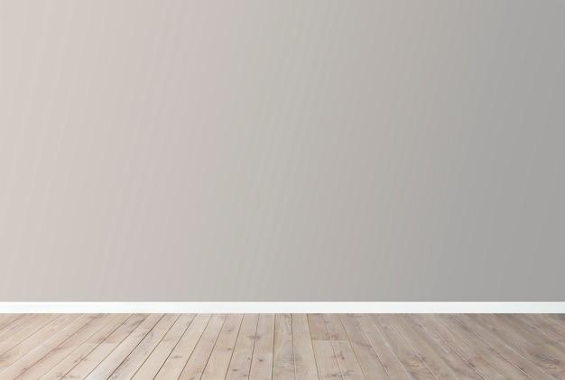 Maqueta de pared en blanco PSD gratuito