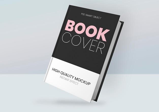 Maqueta de portada de libro PSD gratuito