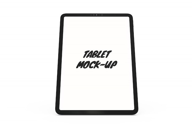 Maqueta de la tableta aislada PSD gratuito