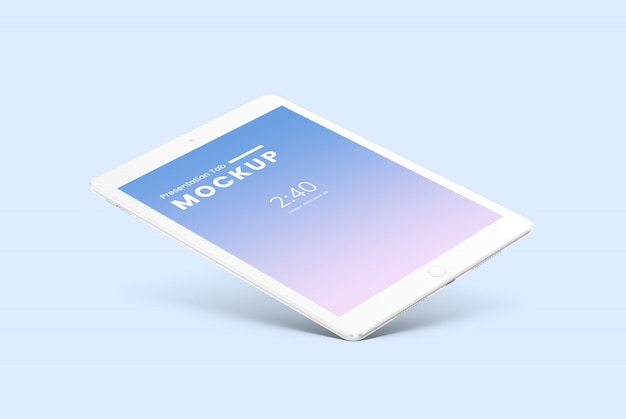 Maqueta de tableta PSD Premium