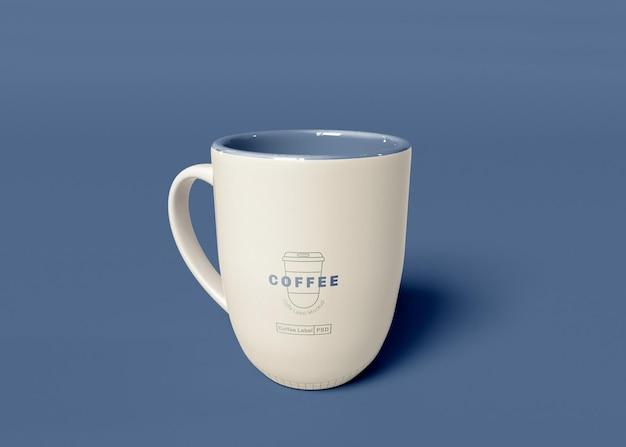 Maqueta de taza de café PSD gratuito