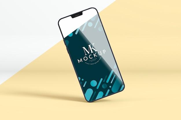 Maqueta teléfono nuevo PSD gratuito