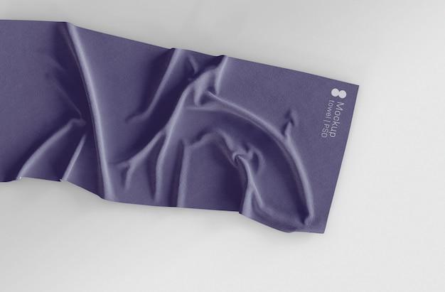 Maqueta de toalla PSD gratuito