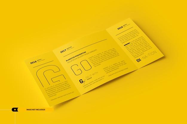 Maqueta triple PSD Premium
