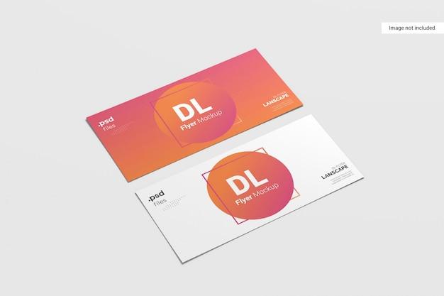 Maqueta de volante creativo PSD Premium