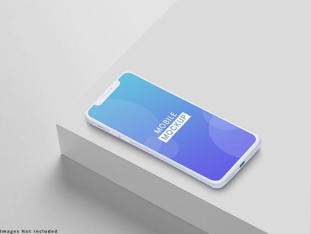 Mobile mock up Psd Premium