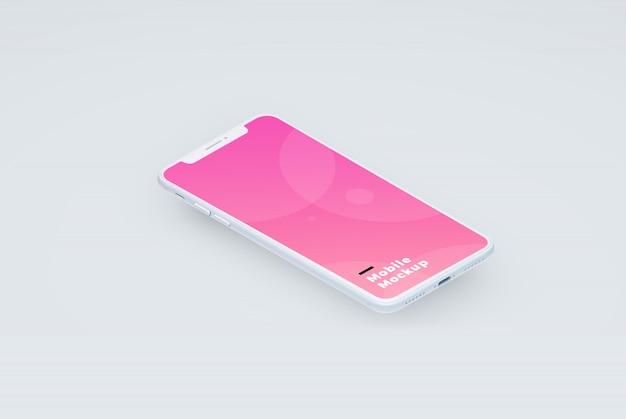 Mobile mockup Premium Psd