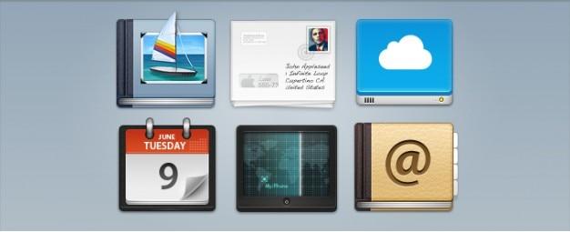 MobileMe Iconos Psd Gratis
