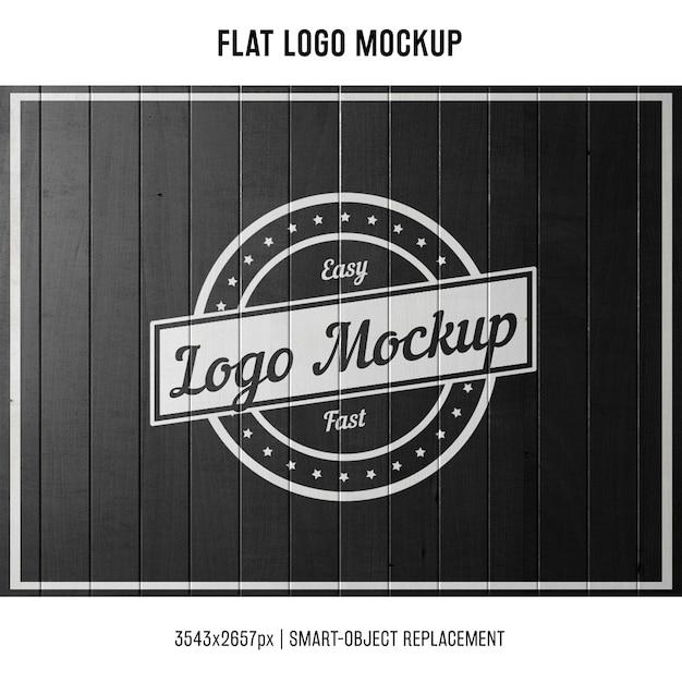 Mock up de logo sellado Psd Gratis