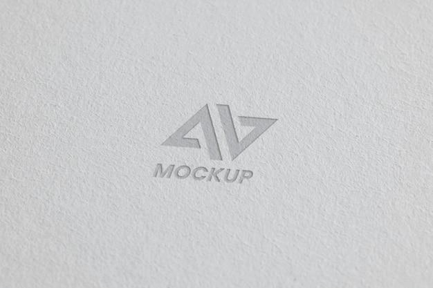 Mock-up logo-ontwerp op visitekaartjes Gratis Psd