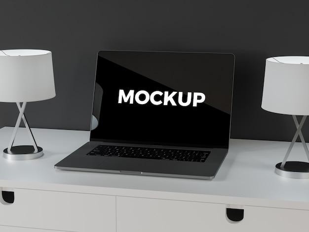 Mock up de portátil PSD Premium