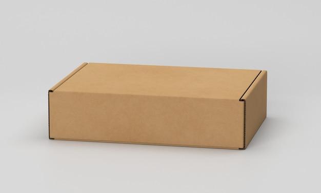 Mock-up van verpakkingsdoos Gratis Psd