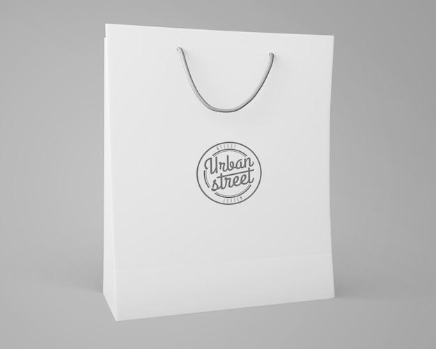 Mockup de bolsa para merchandising PSD gratuito