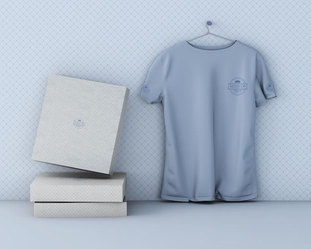 Mockup de camiseta deportiva con logotipo PSD Premium