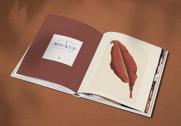 Mockup del libro aperto Psd Gratuite
