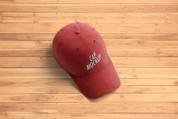 Mockup di berretto da baseball Psd Premium