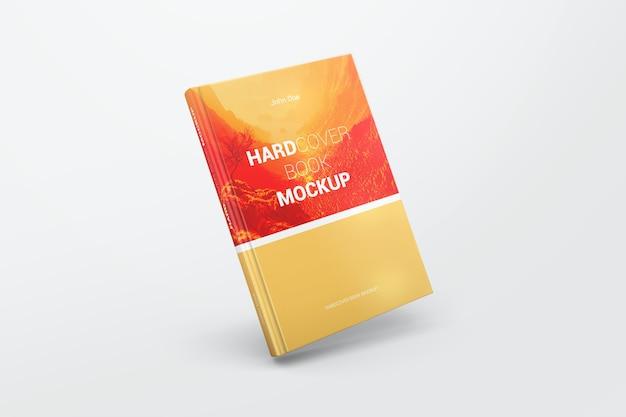 Mockup di libro con copertina rigida realistica Psd Premium