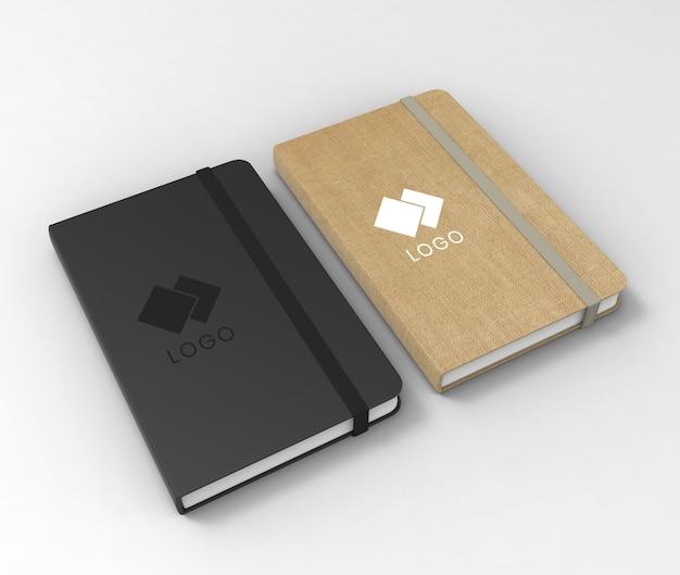 Mockup di sketchbook Psd Premium