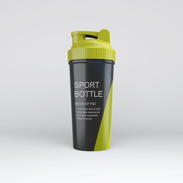 Mockup di sport bottle Psd Premium