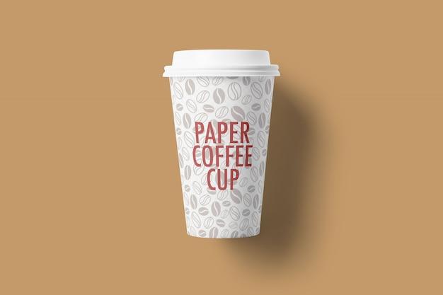 Mockup di tazza di caffè di carta Psd Premium