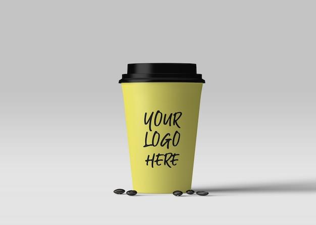 Mockup di tazza di caffè Psd Premium