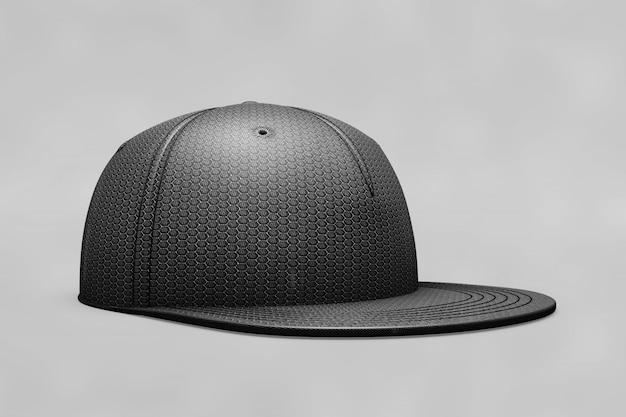 Mockup de gorra de béisbol negra  6a2a57da16a