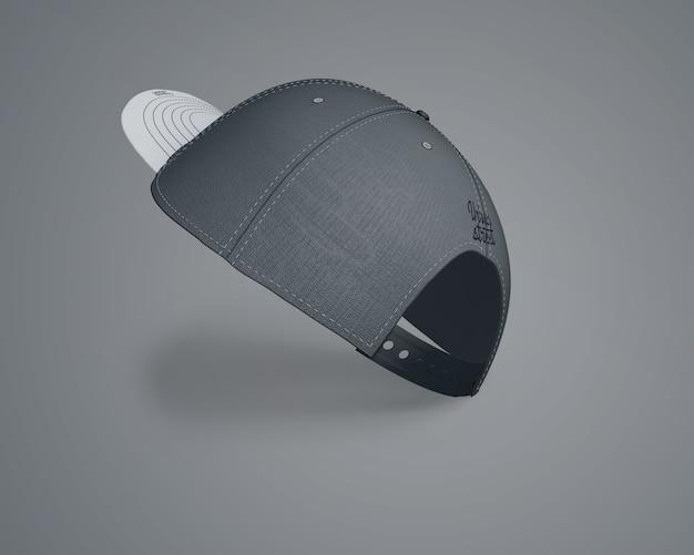 Mockup de gorra para merchandising PSD gratuito