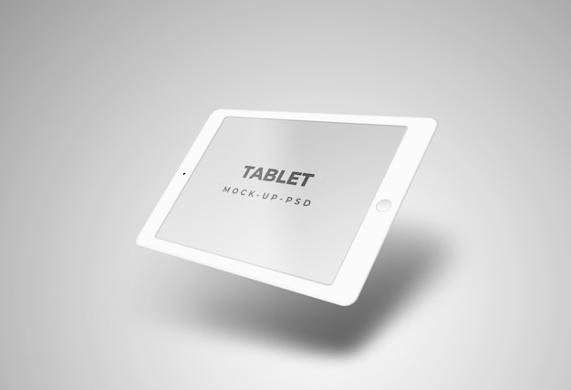 Mockup prospettiva tablet Psd Premium