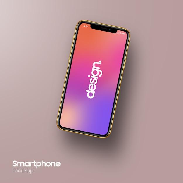 Mockup smartphone super realistico Psd Premium