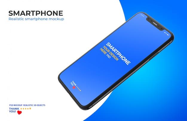 Mockup van smartphone Premium Psd