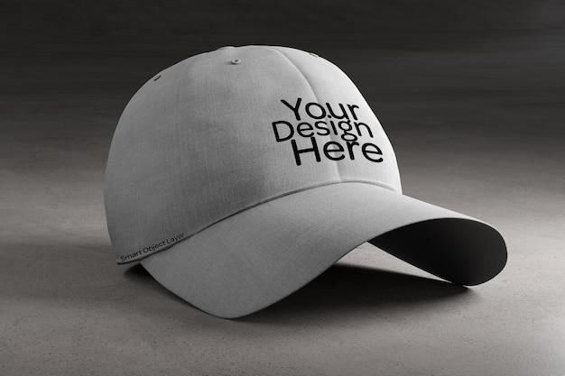 Mockup voor baseballcap Premium Psd