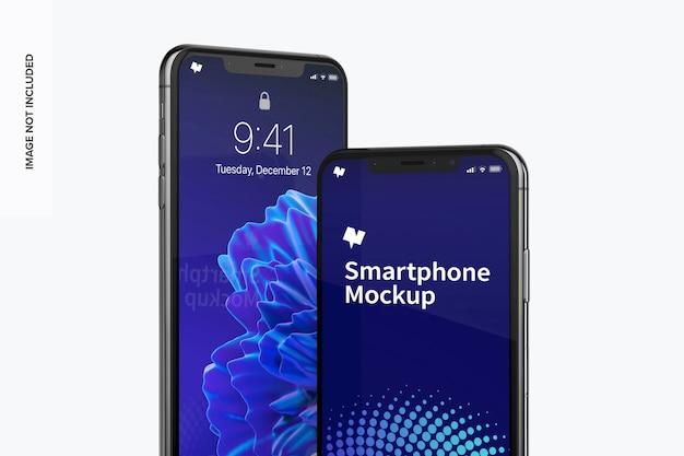 Mockup voor max. smartphone Premium Psd