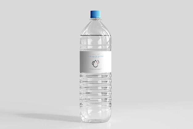 Mockup voor zoetwaterfles Gratis Psd