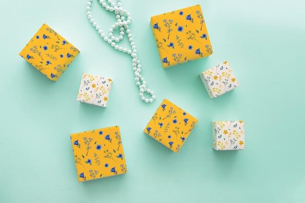 Model voor sieraden en verpakkingen Gratis Psd