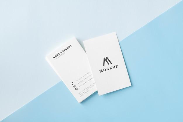 Model voor visitekaartjes en naamkaartjes Gratis Psd