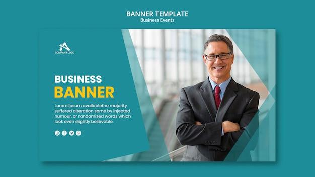 Modello di banner aziendali professionali Psd Premium
